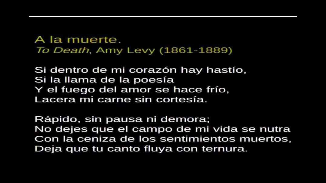 A la Muerte - Amy Levy