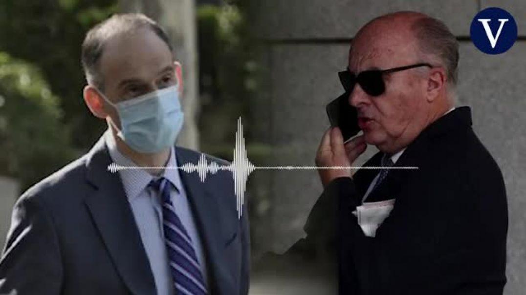 El audio del inspector de Gürtel ante el juez así narró cómo le exigieron sacar a Rajoy del inform