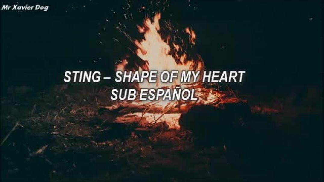 Sting - Shape Of My Heart  (Subtitulado Español)
