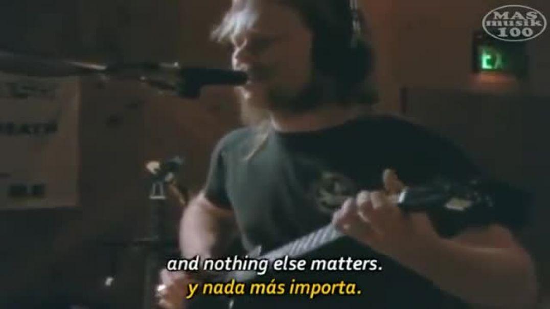 Metallica- Nothing Else Matters (Subtitulado Esp