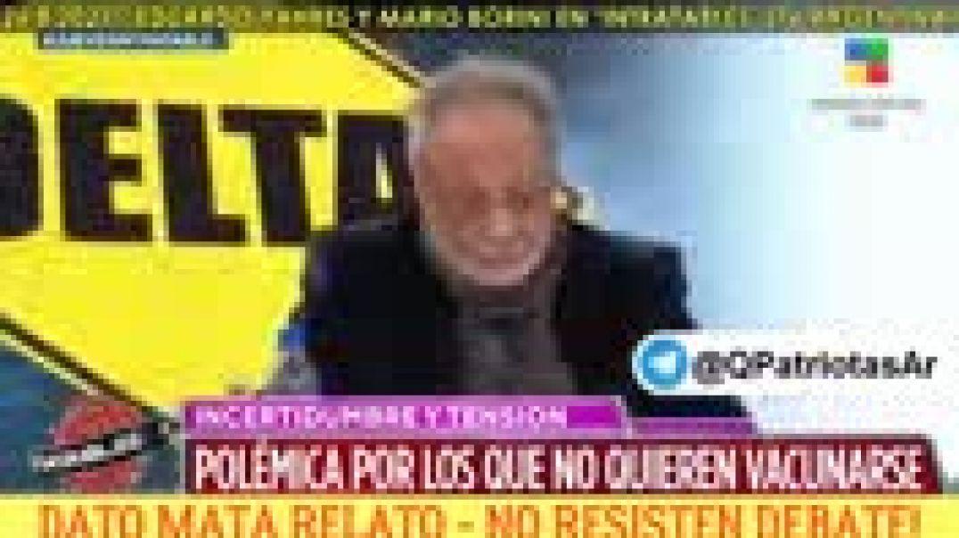 """26.8.2021 Dr. Eduardo Yahbes y Dr. Mario Borini en programa """"Intratables"""". Canal America ("""