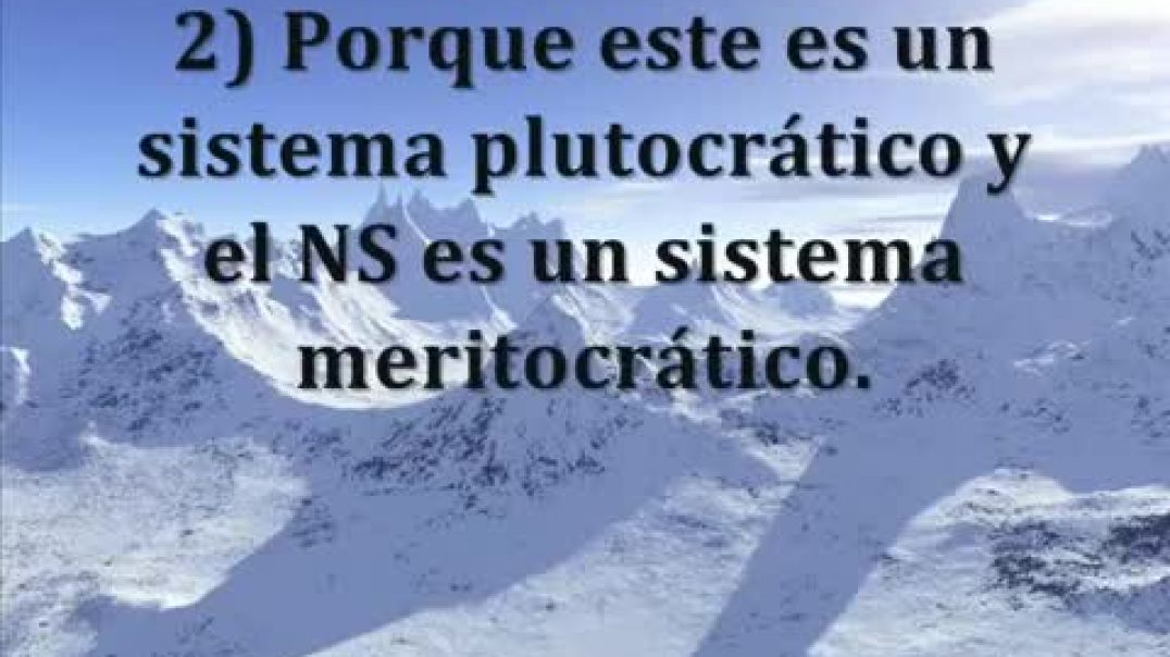 El verdadero NS