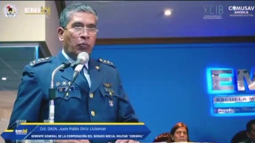 En Bolivia, El Dr. Juan Pablo Ortiz, Coronel médico y gerente