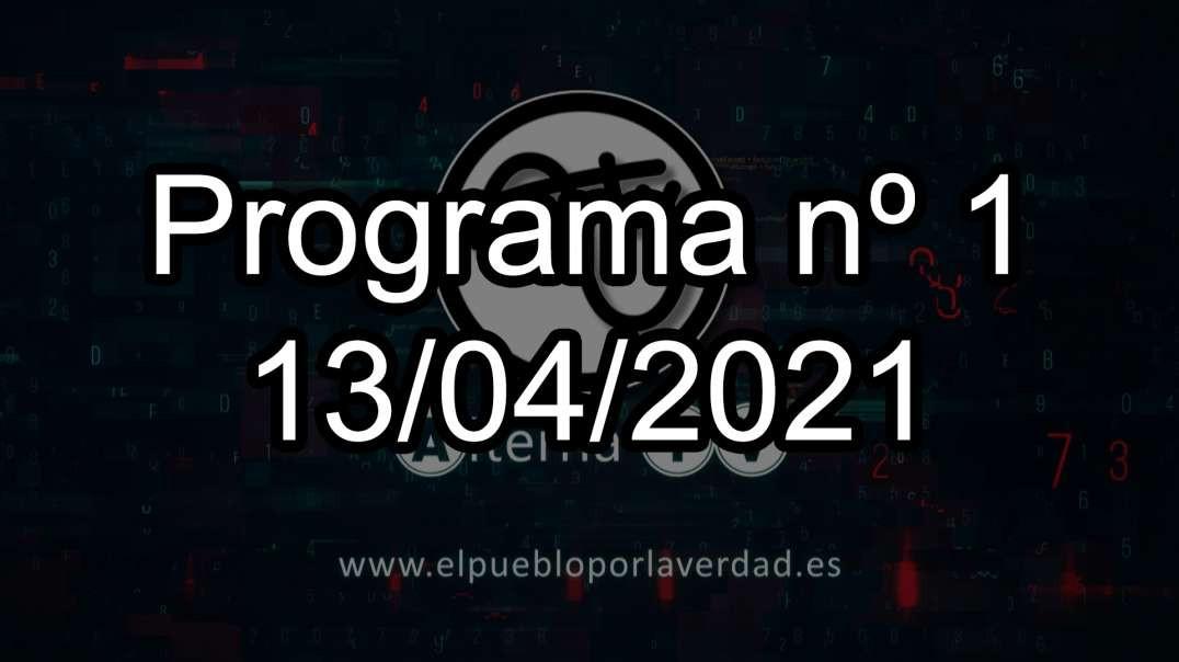 Programa nº 1 (13/04/2021)